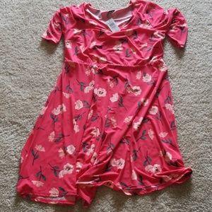 Torrid Red Floral Dress